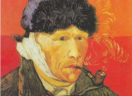 537px-Van_Gogh_-_Selbstbildnis_mit_verbundenem_Ohr_und_Pfeife